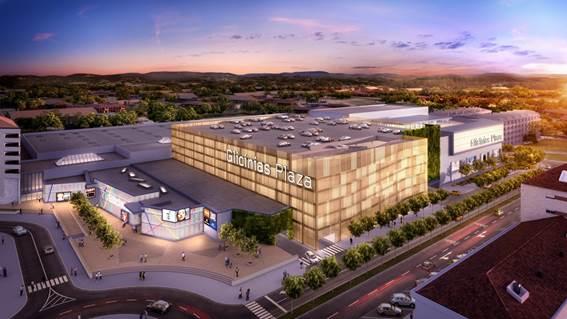 Glicínias Plaza vai ser o maior centro comercial de Aveiro